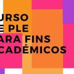 Banner do Curso de Português Língua Estrangeira para Fins Académicos